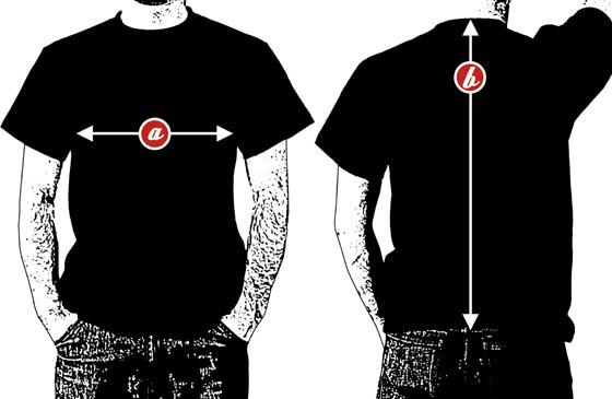 koszulka męska narrow